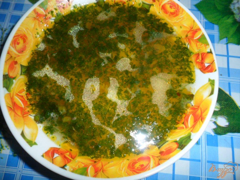 Фото приготовление рецепта: Простой экономно-постный суп шаг №4
