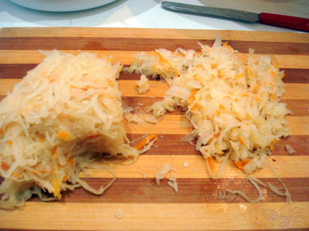 Фото приготовление рецепта: Заварные вареники с капустой и с картошкой. шаг №1