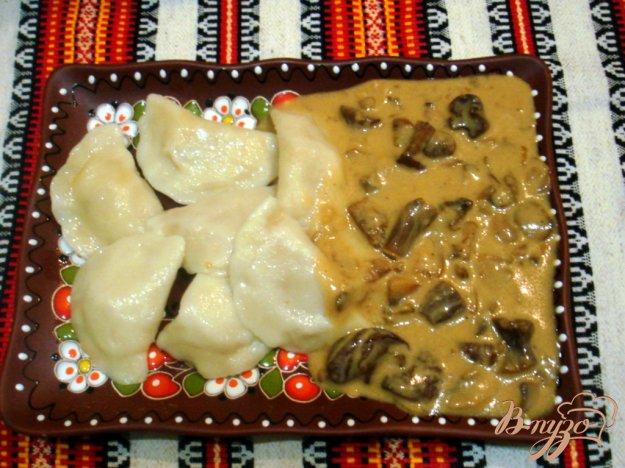 фото рецепта: Заварные вареники с капустой и с картошкой.