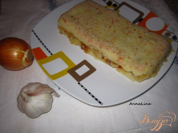 фото рецепта: Картофельная запеканка с капустой