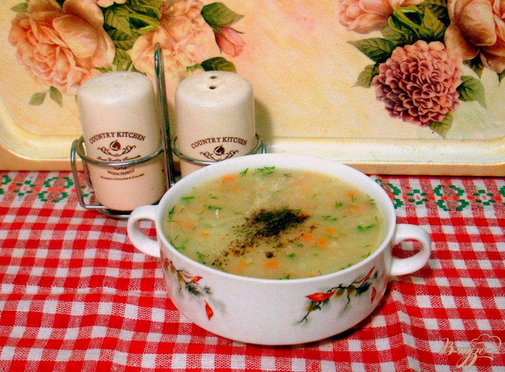 Фото приготовление рецепта: Картофельный суп шаг №7