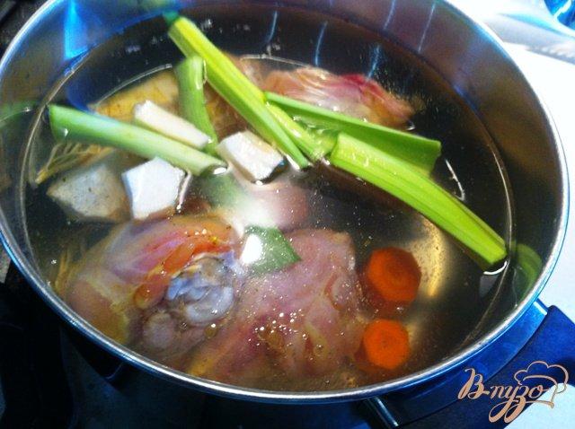 Фото приготовление рецепта: Куриный супчик шаг №1