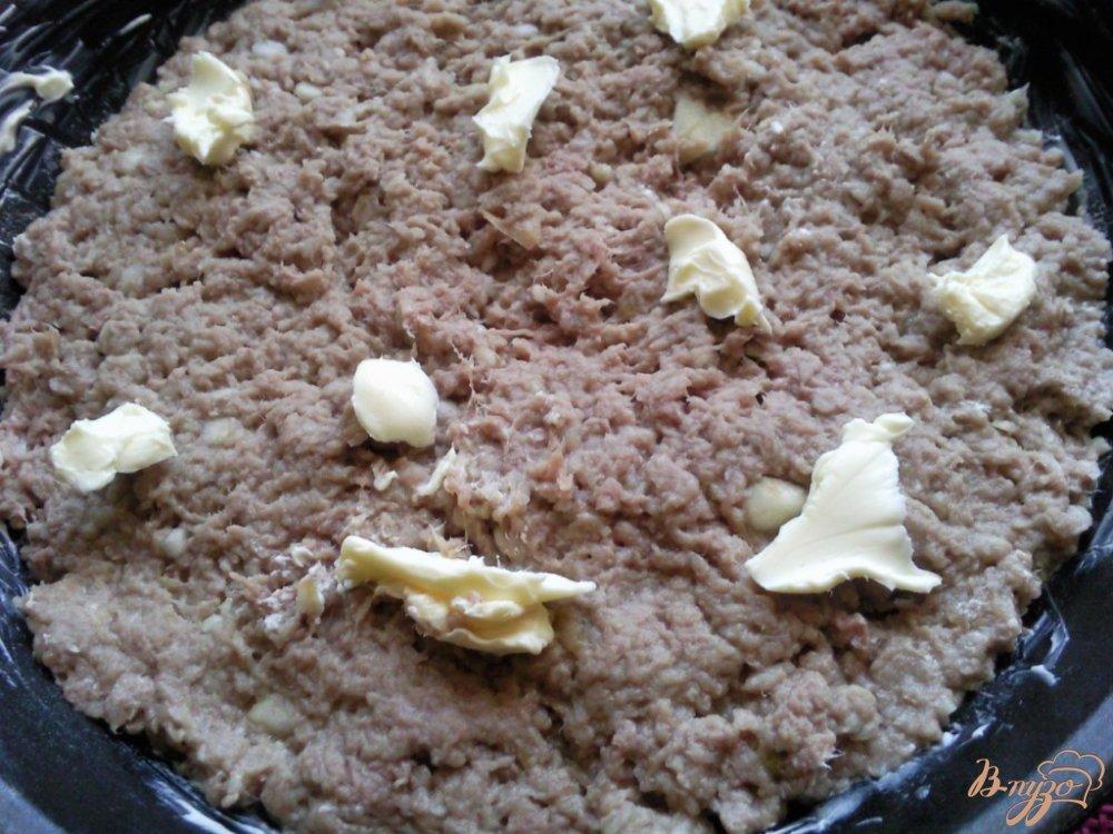 Фото приготовление рецепта: Запеканка из яблок и говядины шаг №4