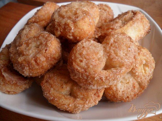 Печенье ушки пошаговый рецепт с