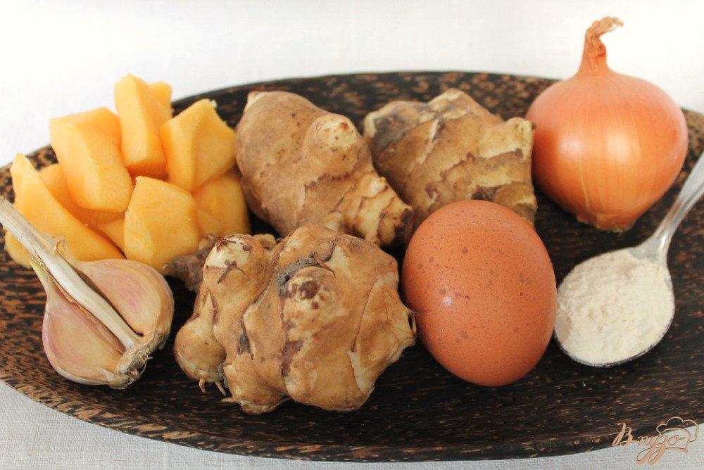 Фото приготовление рецепта: Драники из топинамбура и кабачка шаг №1