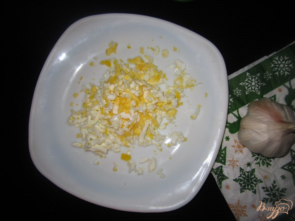 Фото приготовление рецепта: Коктель-закуска с селедкой шаг №3