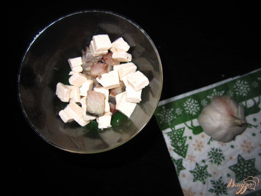 Фото приготовление рецепта: Коктель-закуска с селедкой шаг №2