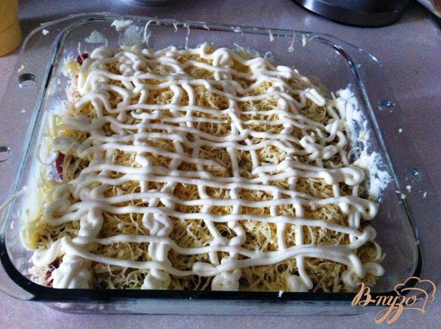 Фото приготовление рецепта: Мясо по-де Голевски шаг №7
