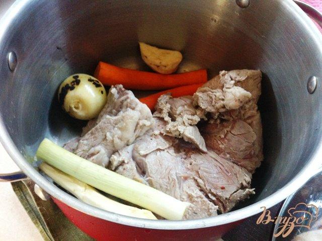Фото приготовление рецепта: Суп из чечевицы с грибами шаг №3