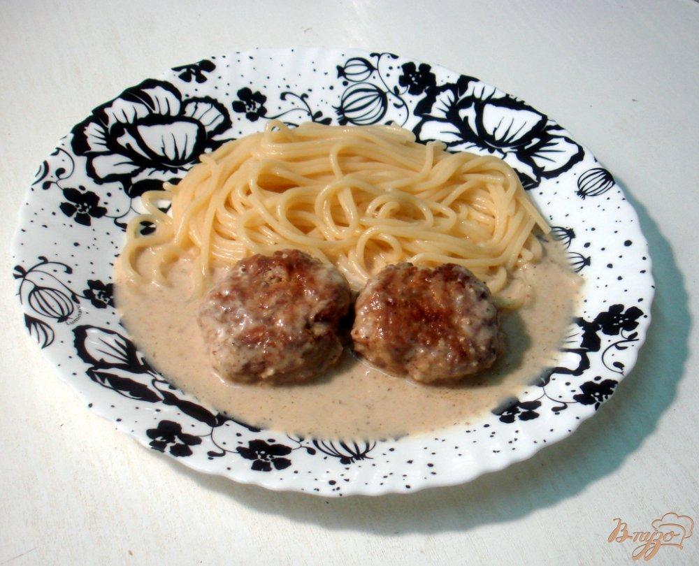 Фото приготовление рецепта: Котлеты в ореховом соусе шаг №6