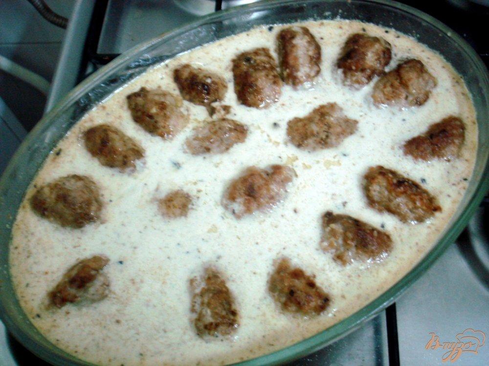 Фото приготовление рецепта: Котлеты в ореховом соусе шаг №5