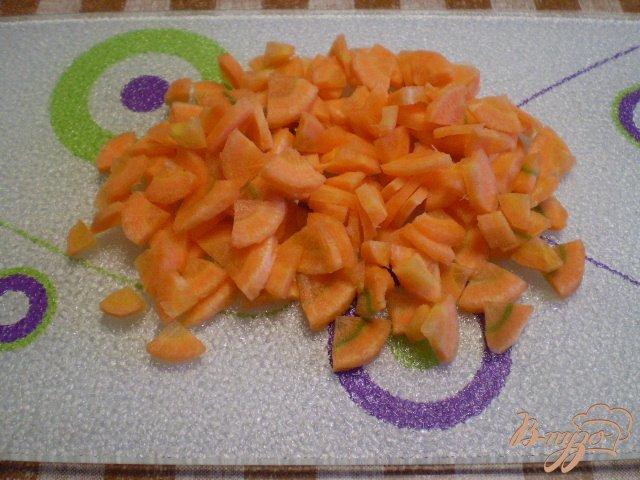 Фото приготовление рецепта: Суп кукурузный с яйцом и зеленью шаг №4