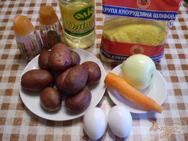 Фото приготовление рецепта: Суп кукурузный с яйцом и зеленью шаг №1