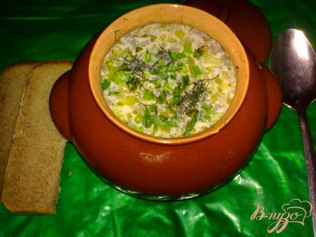 фото рецепта: Суп макаронный в горшочке