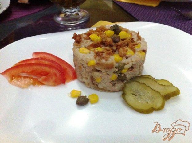 фото рецепта: Салат с тунцом и рисом
