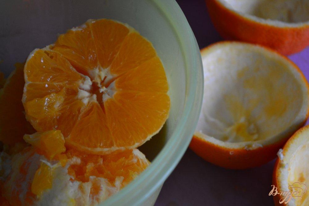 Фото приготовление рецепта: Апельсиновый десерт шаг №2