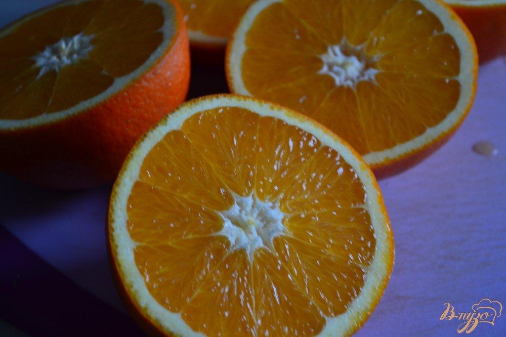 Фото приготовление рецепта: Апельсиновый десерт шаг №1