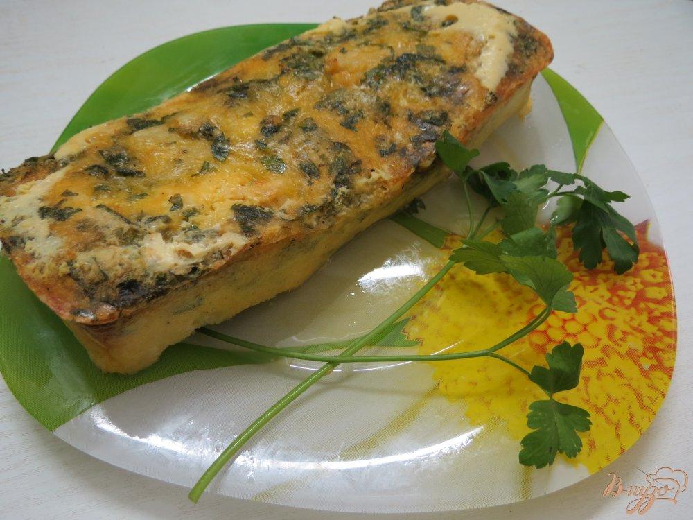 Фото приготовление рецепта: Запеканка с цветной капустой шаг №7