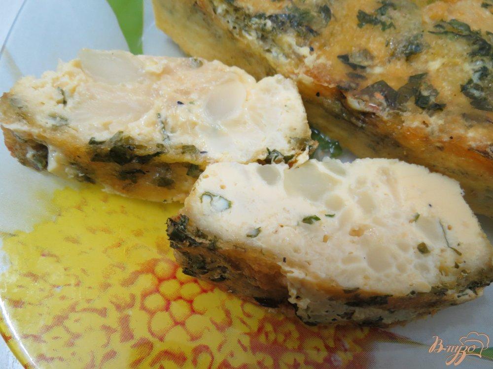 Фото приготовление рецепта: Запеканка с цветной капустой шаг №9