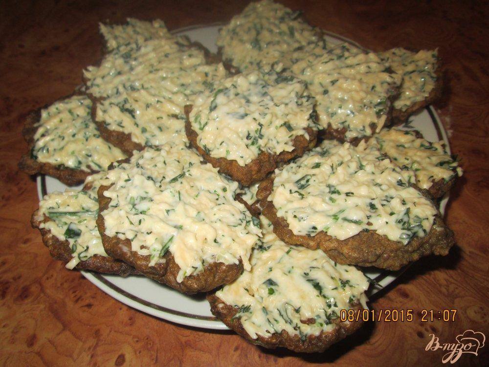 Фото приготовление рецепта: Печёночные оладьи шаг №5