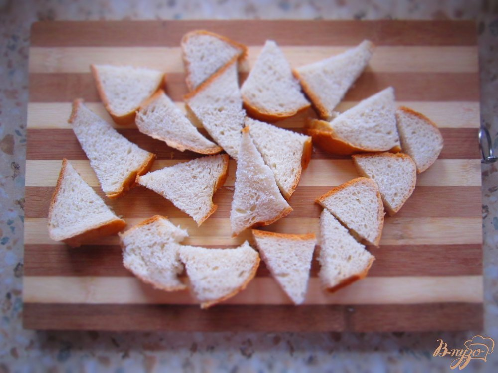Фото приготовление рецепта: Хлебный пудинг с заварным кремом шаг №3
