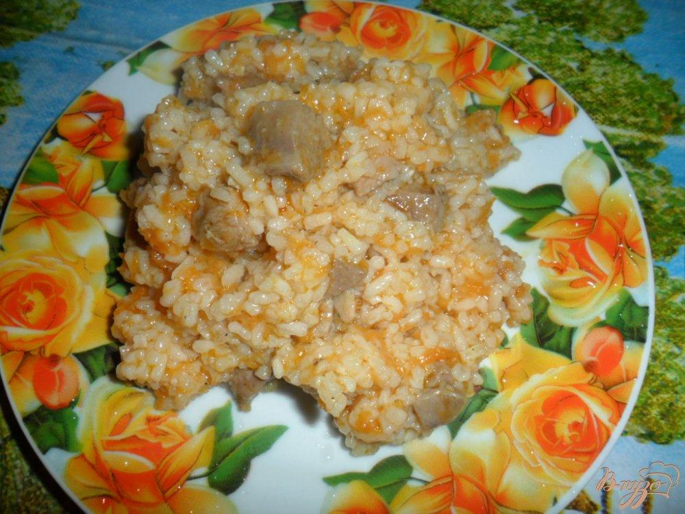 Фото приготовление рецепта: Рис с мясом шаг №5