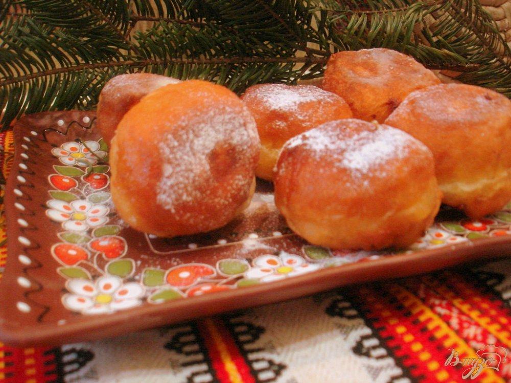 Фото приготовление рецепта: Пончики шаг №7