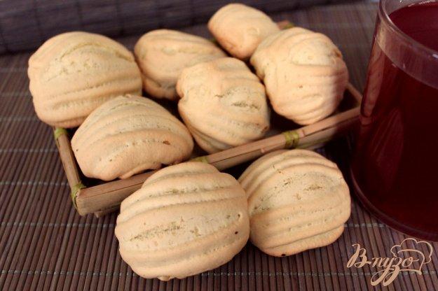 фото рецепта: Ванильное печенье «Полоски»