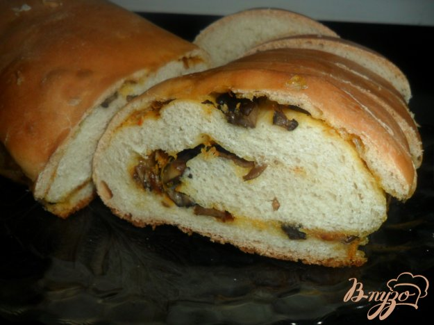 фото рецепта: Рулет с грибами