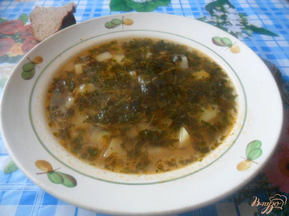 Фото приготовление рецепта: Щавелевый борщ с томатом шаг №4