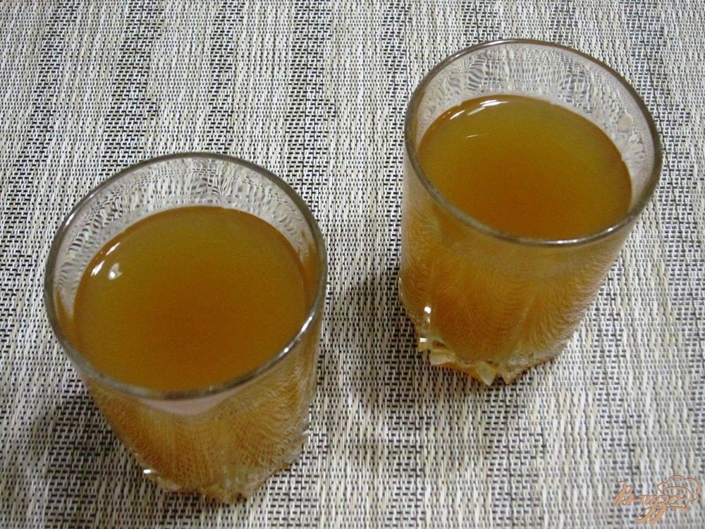 Фото приготовление рецепта: Яблочный квас шаг №7