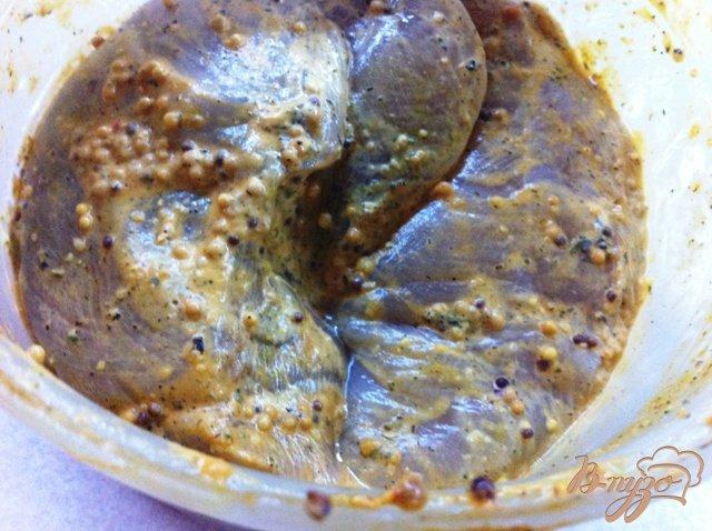 Фото приготовление рецепта: Куриная пастрома в оливковом масле шаг №1