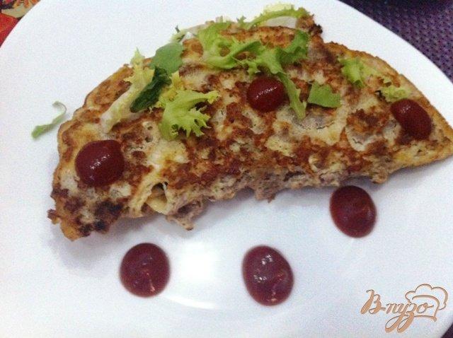 Фото приготовление рецепта: Ленивый бризоль с черносливом и сыром шаг №8