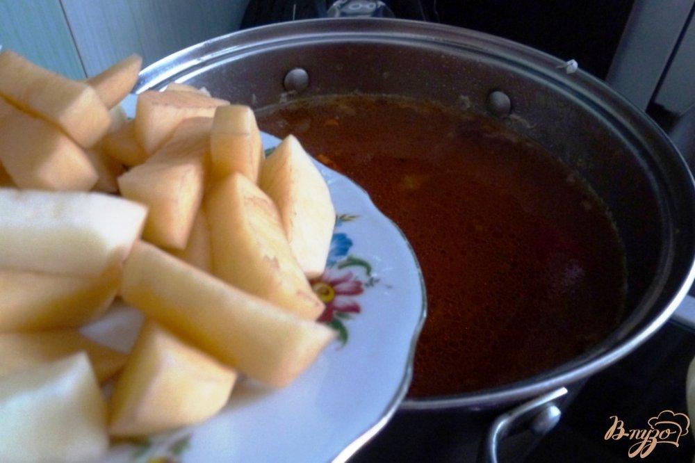 Фото приготовление рецепта: Капустняк из квашенной капусты с пшеном шаг №3