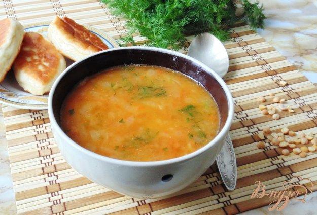 Вегетаріанський суп гороховий з томатом.. Як приготувати з фото