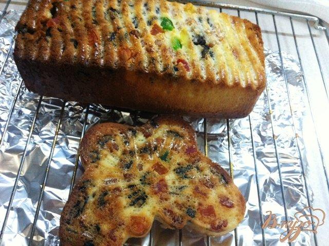Фото приготовление рецепта: Манник с цукатами и изюмом шаг №11