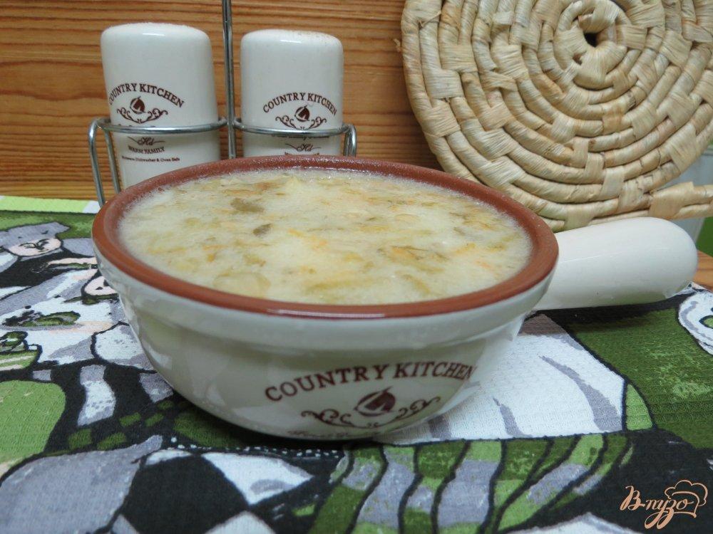 Фото приготовление рецепта: Рассольник с рисом на курином бульоне шаг №7