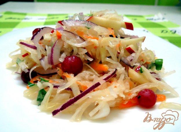 фото рецепта: Витаминный зимний салат