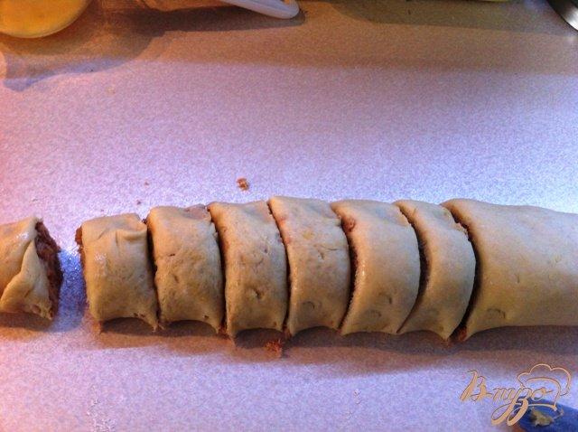Фото приготовление рецепта: Шанежки  с мясом шаг №9