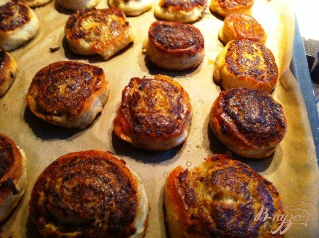 Фото приготовление рецепта: Шанежки  с мясом шаг №12