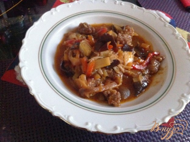 фото рецепта: Говядина с китайской овощной смесью