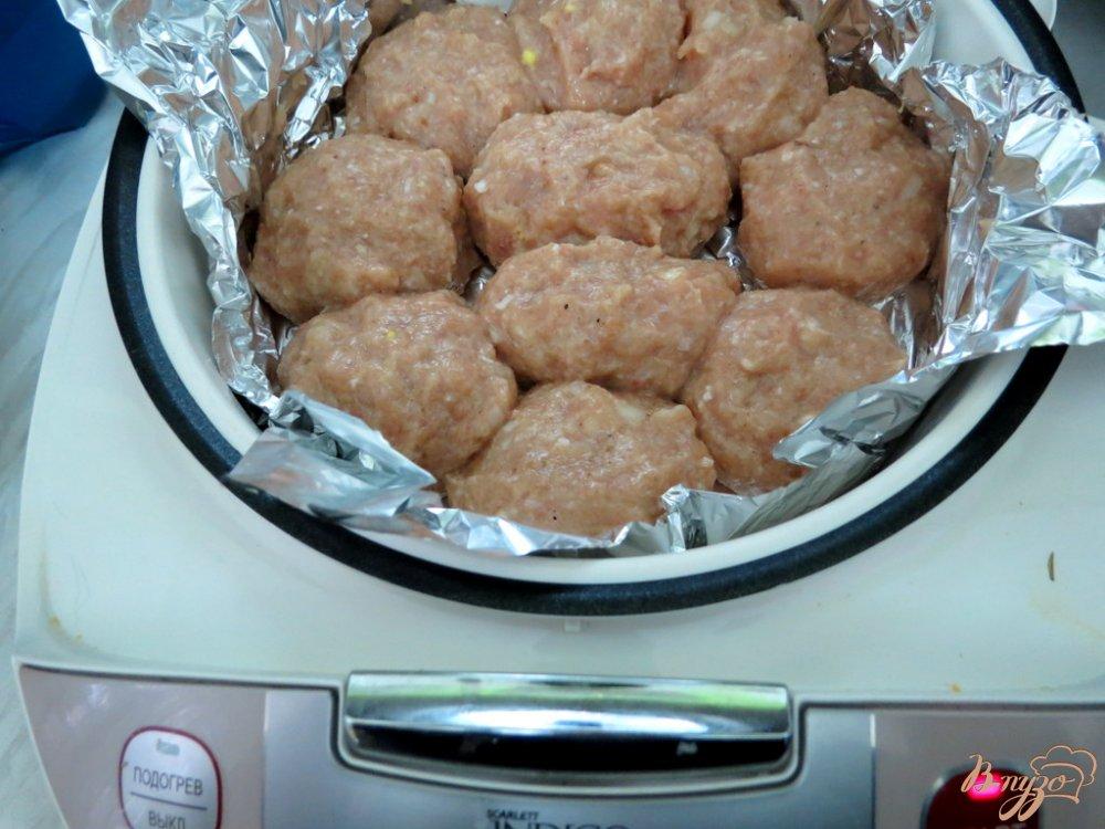 Фото приготовление рецепта: Котлеты куриные паровые шаг №5