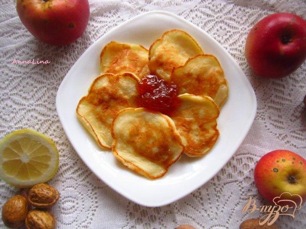 Яблочные оладьи в духовке рецепт с фото