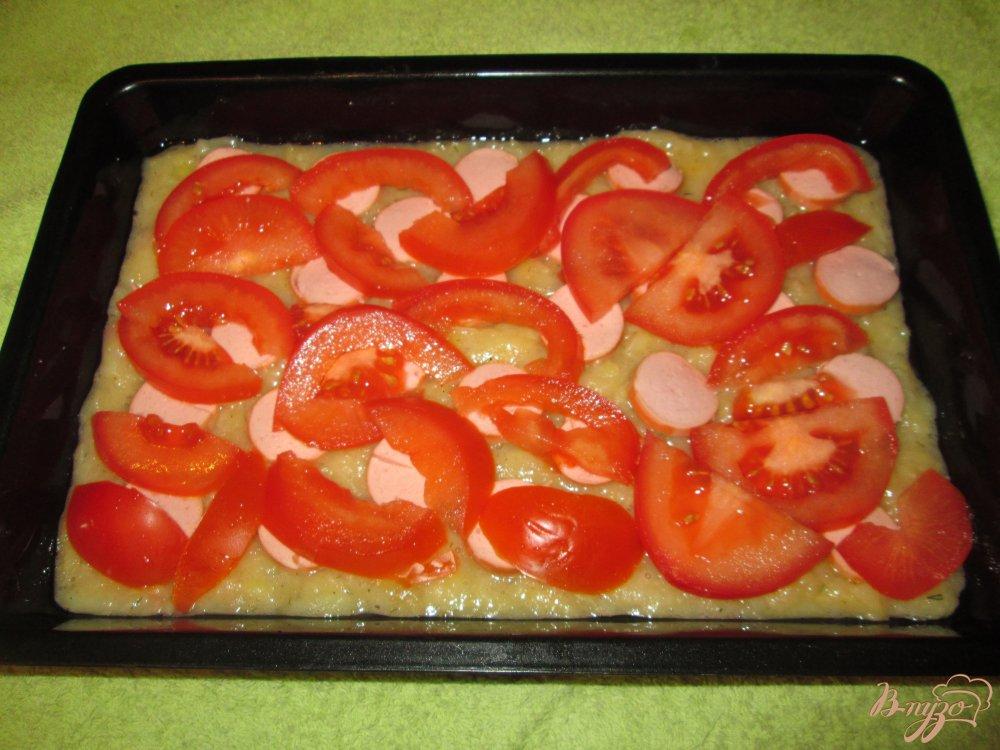 Картофельная запеканка с сосисками в духовке рецепты пошагово