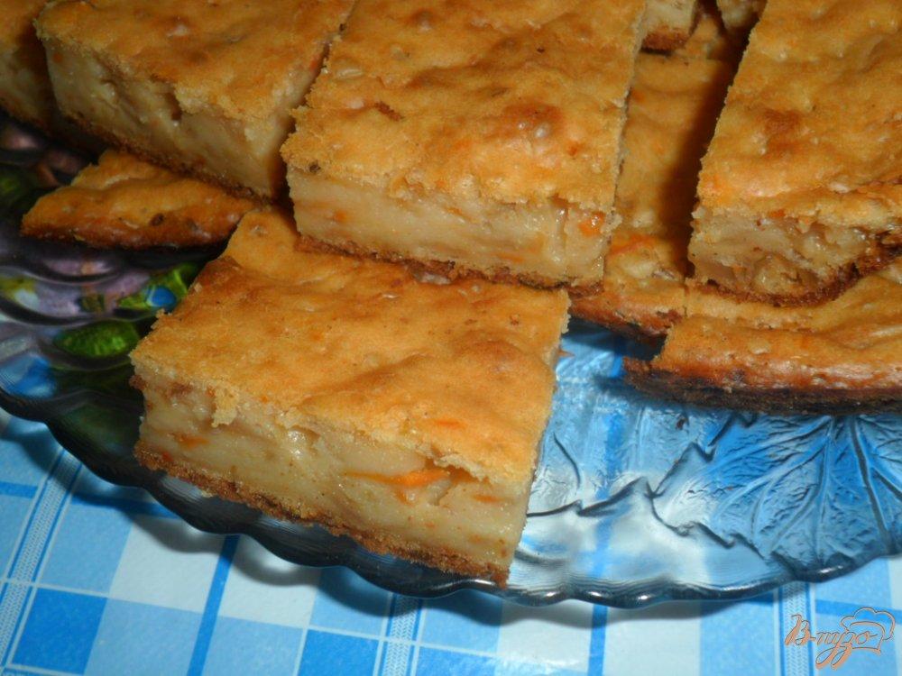 Фото приготовление рецепта: Кекс закусочный с тушеной капустой шаг №5