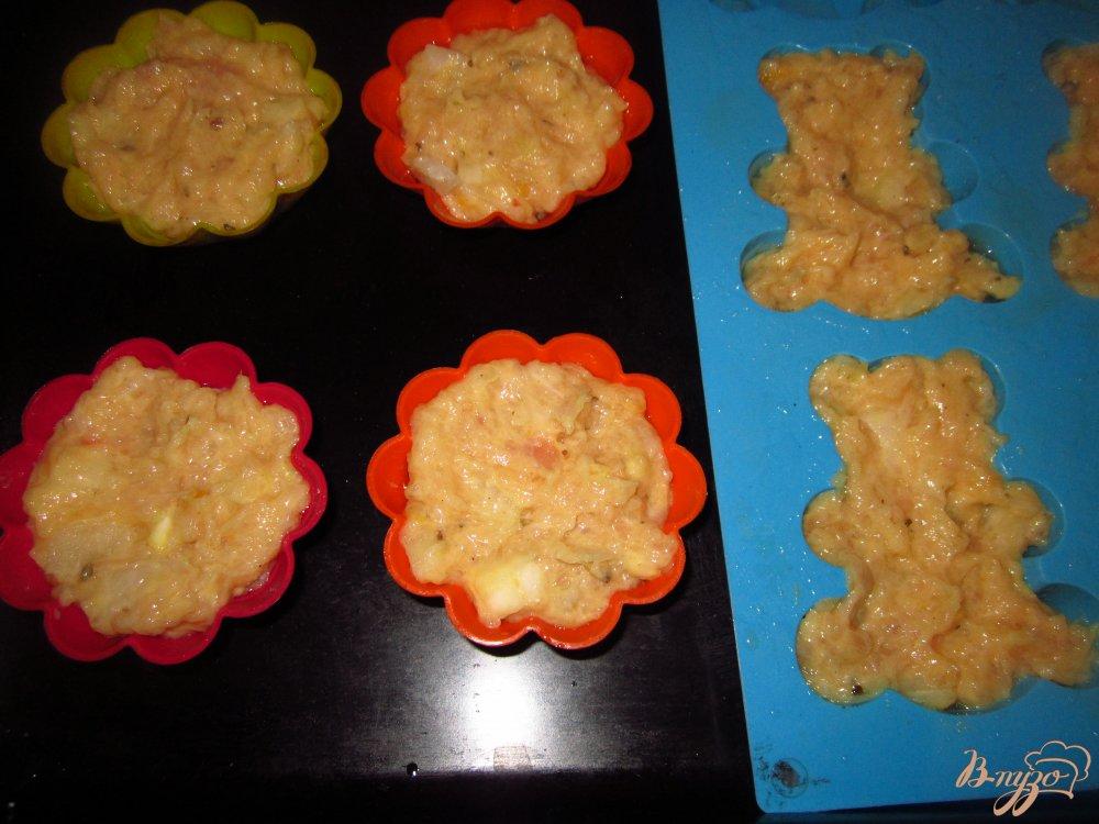 Фото приготовление рецепта: Запеченное куриное суфле шаг №4