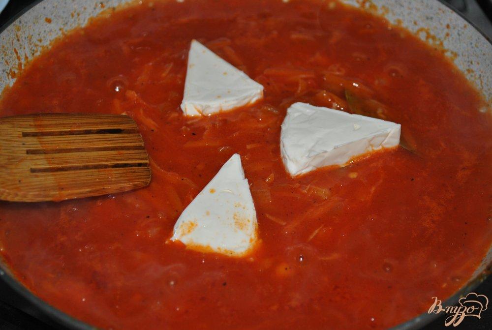 Фото приготовление рецепта: Голубцы шаг №11