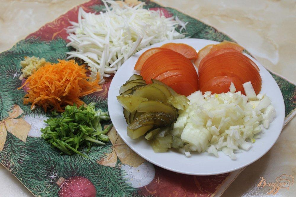 Фото приготовление рецепта: Шаурма со свининой шаг №2