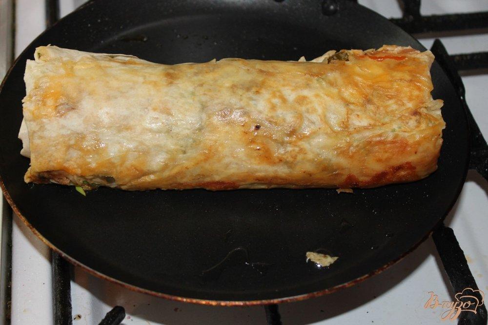Фото приготовление рецепта: Шаурма со свининой шаг №9