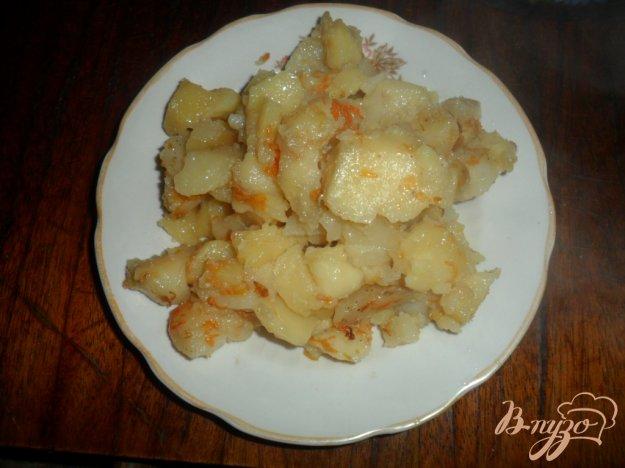 Тушкована картопля з салом. Як приготувати з фото
